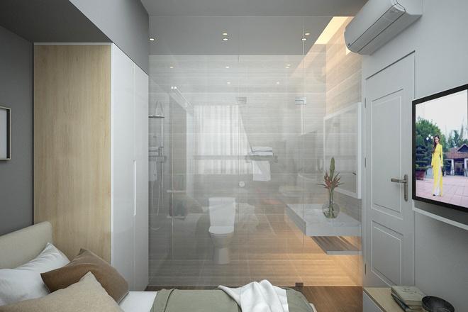 Sửa căn hộ có bếp ăn nhìn thẳng vào khu vệ sinh