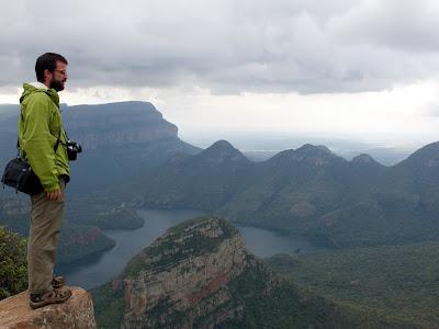 En lo alto del cañon Blyde River (canyon)