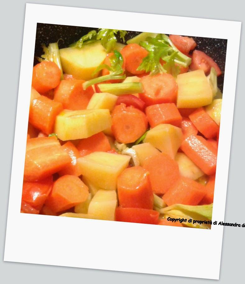 preparazione vellutata di carote