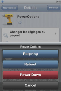 PowerOptions for iPhone and iPod touch