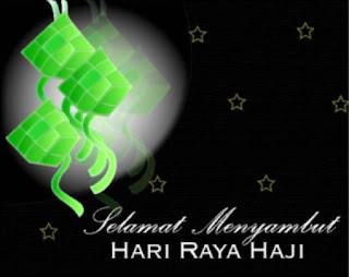 Selamat Hari Raya Haji  Dan Selamat Bercuti