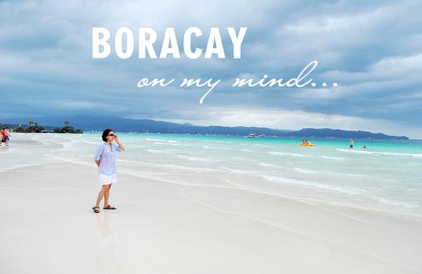 beach, blue, boracay