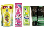 Amazon: Buy Comfort Fabric Conditioner, Ponds Face Moisturiser, Vim Dishwash Pouch at Rs. 1