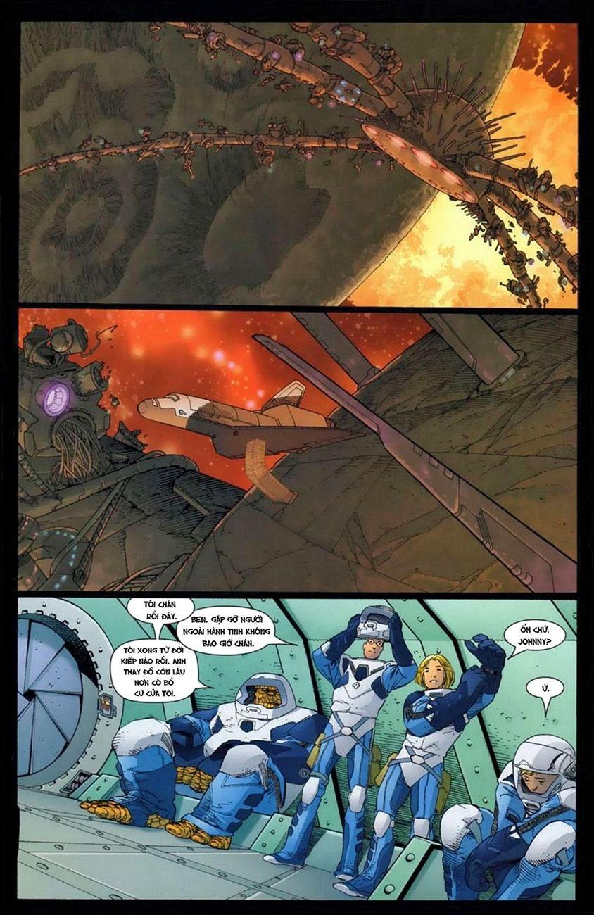 Ultimate Fantastic Four chap 16 - Trang 4