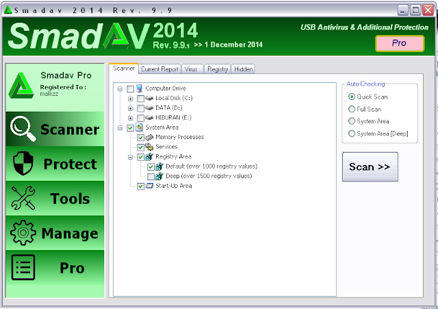 Smadav Pro Rev 9.9.1 Full Serial Number Key Terbaru