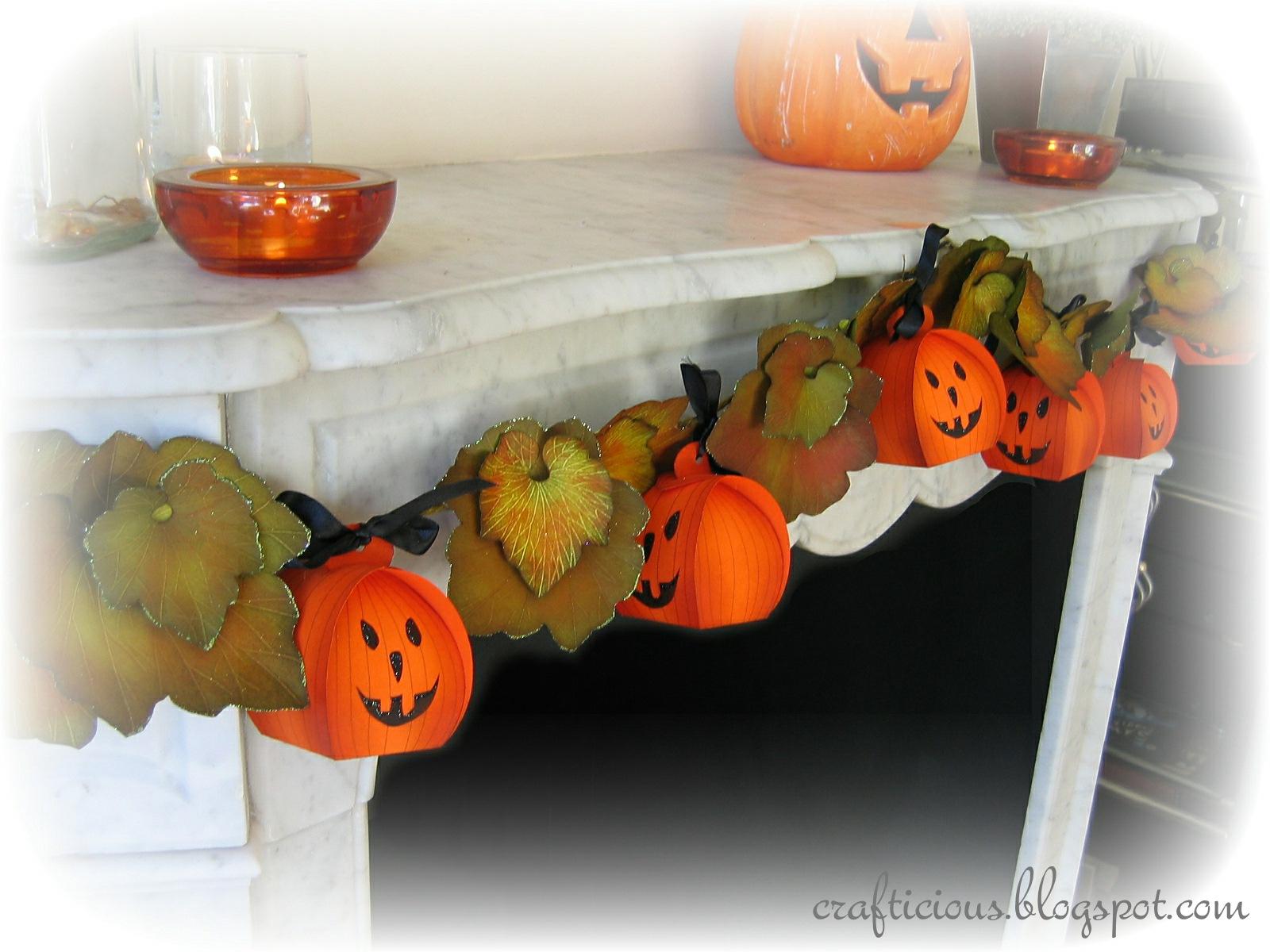 Осенний декор из бумаги своими руками 9