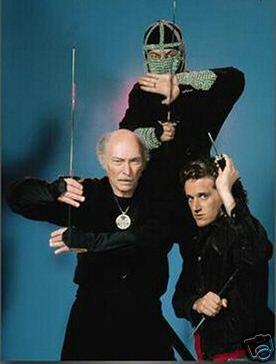 80/'s TV Ninja Classic The Master John Peter McAllister custom tee Any Size