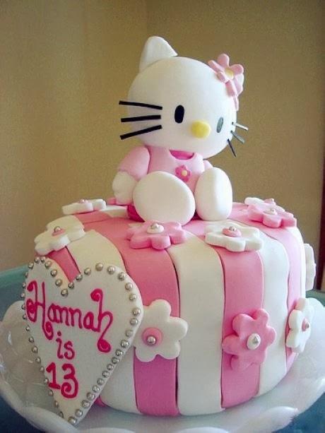 Kitty Decoracion De Tortas ~ Pasteles de Cumplea?os de Hello Kitty  Fiestas Infantiles Decoracion