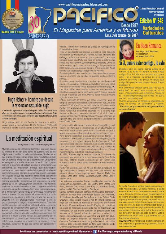 Revista Pacífico Nº 348 Variedades Culturales