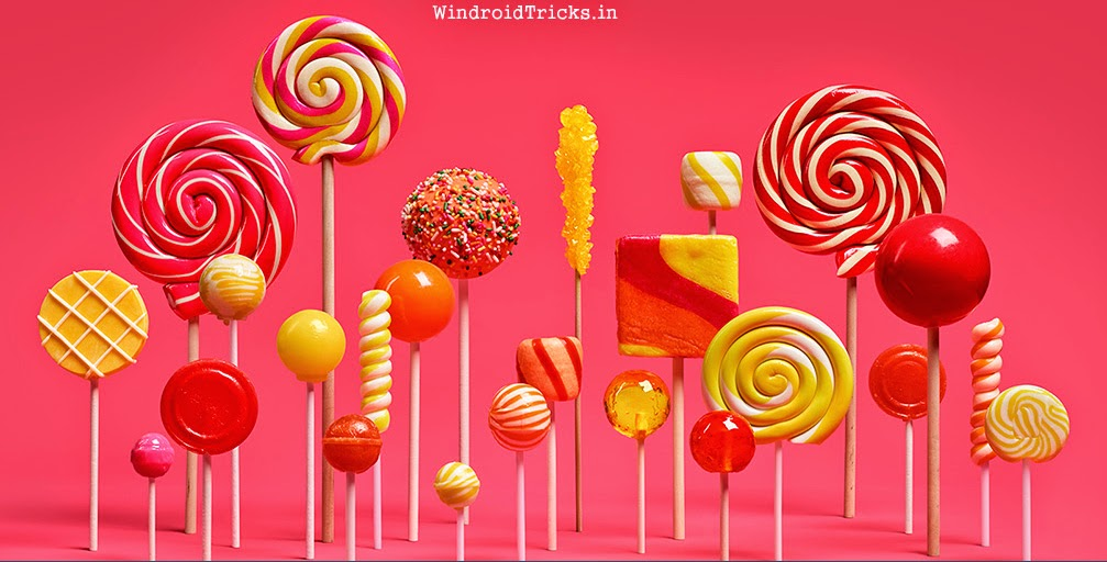 android lollipop design