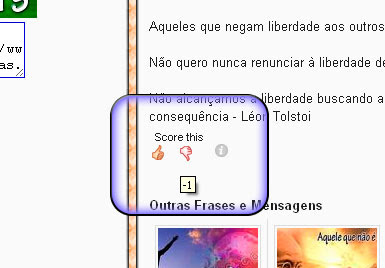 classificar postagens do blog