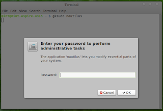 enter password to perform the administrative task