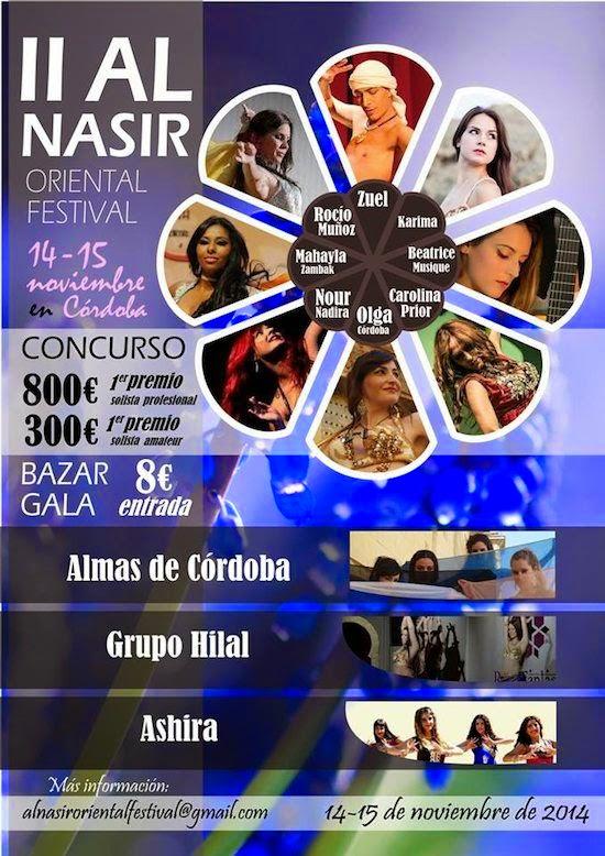 II Al Nasir Oriental Festival. Concurso de danza del vientre en Córdoba
