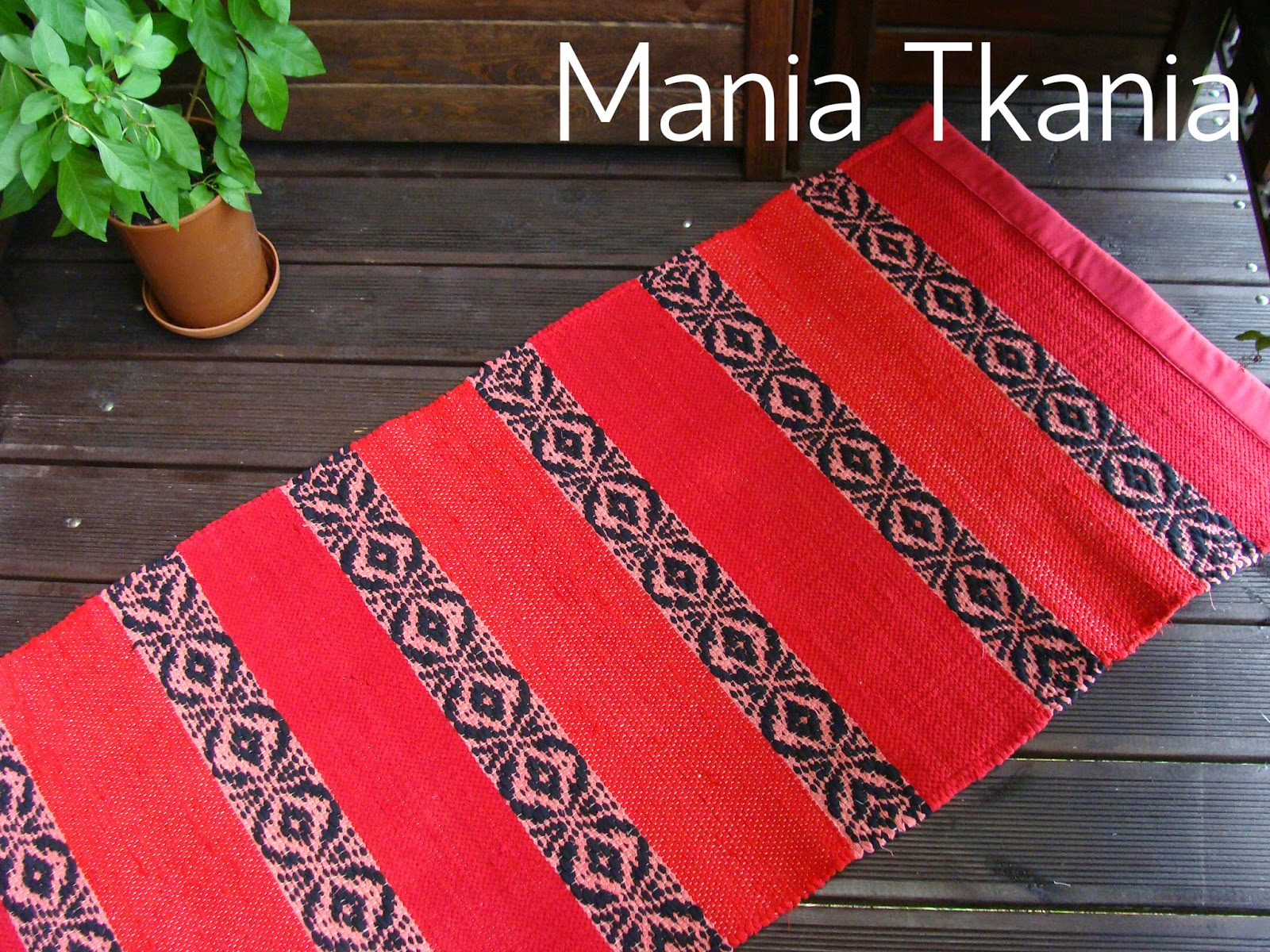 ręcznie tkane dywaniki