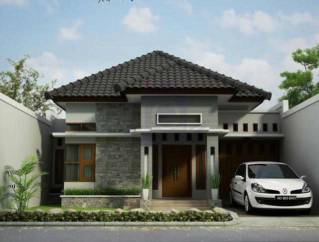 Desain Eksterior Rumah Bapak Eko Jatmiko di Karanganyar