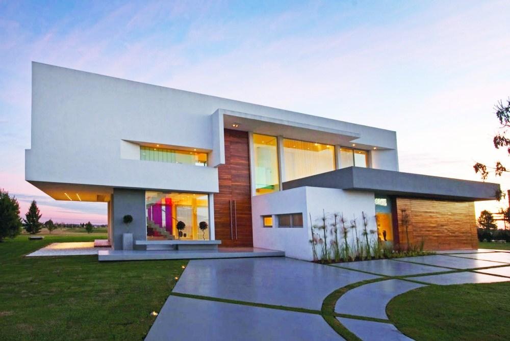 Fachadas de casas e muros veja modelos e dicas for Casas super modernas fotos