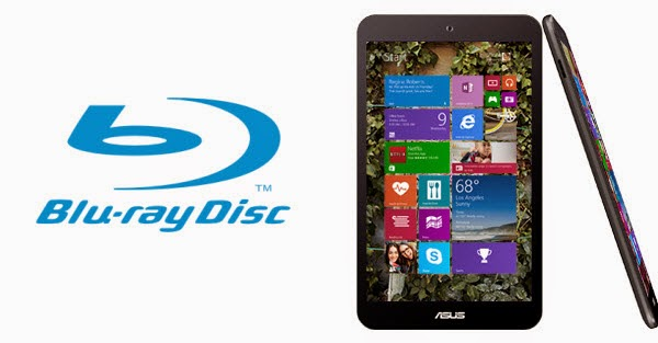 Copy Blu-ray movies to Asus VivoTab 8 tablet