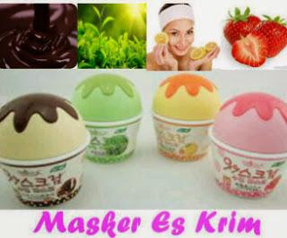 Ice Cream Facial Mask