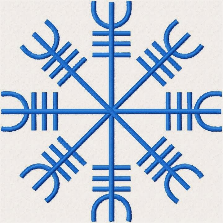 Nordic Wiccan Bind Runes