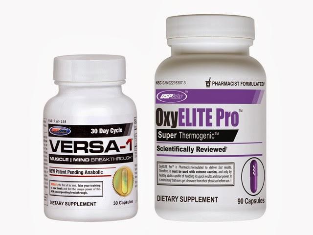 Suplementos dietéticos OxyElite Pro e VERSA-1 estão sendo investigados pelo FDA. Foto: Reprodução