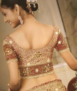 saree Blouse Back Designs - Choli Back Design Pictures - blouse design ideas 2012