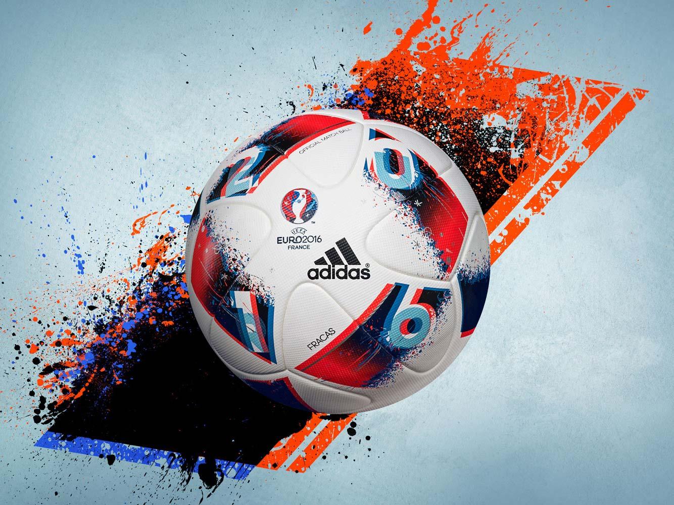 мяч спорт EURO 2016 adidas  № 3918582  скачать