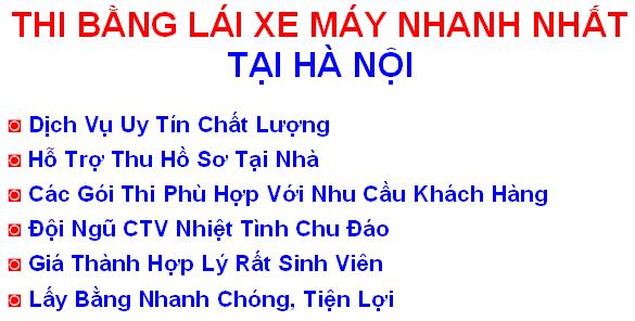 thi - lam bang lai xe may a1 tai ha noi