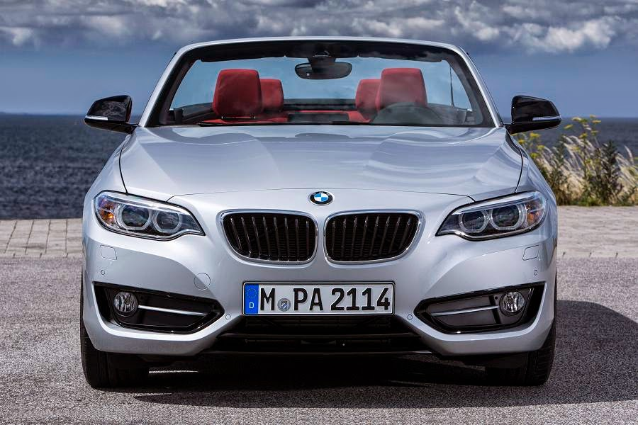 BMW 2 Series Convertible Sport (2015) Front