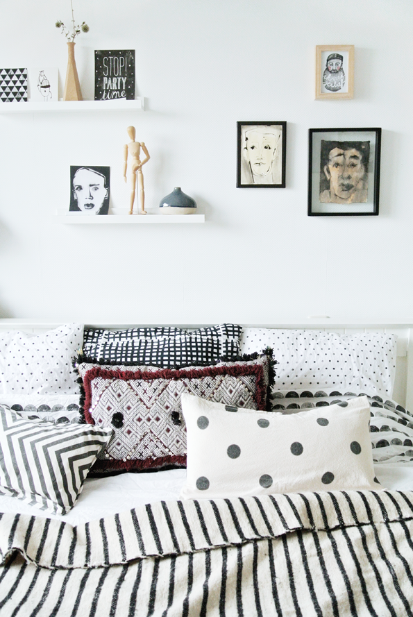 my scandinavian home the lovely home of a dutch designer. Black Bedroom Furniture Sets. Home Design Ideas