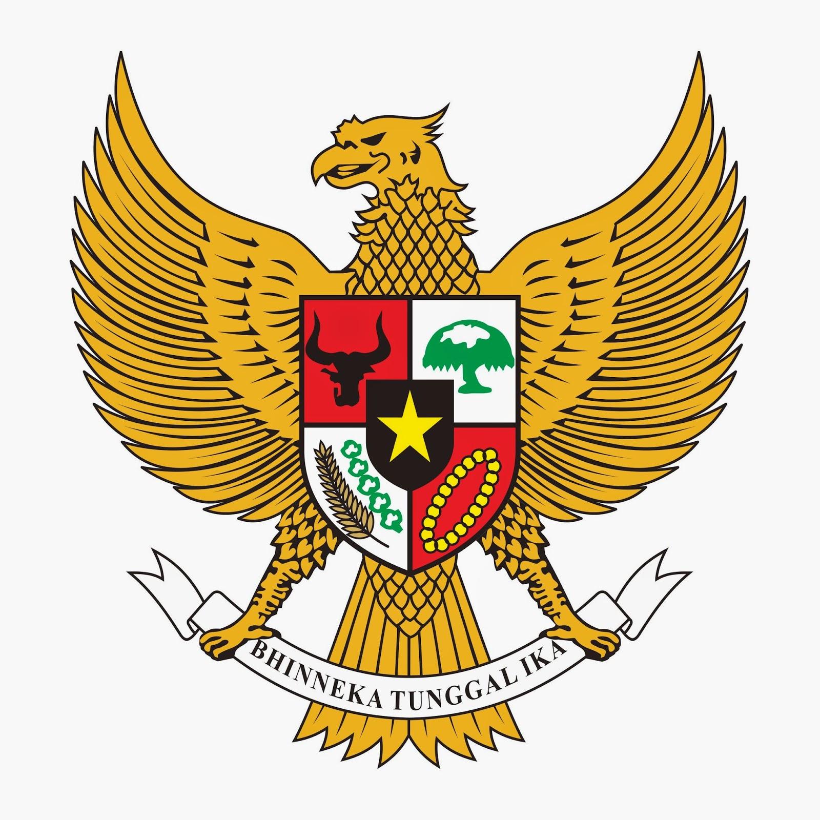 gambar binatang gambar garuda pancasila indonesia