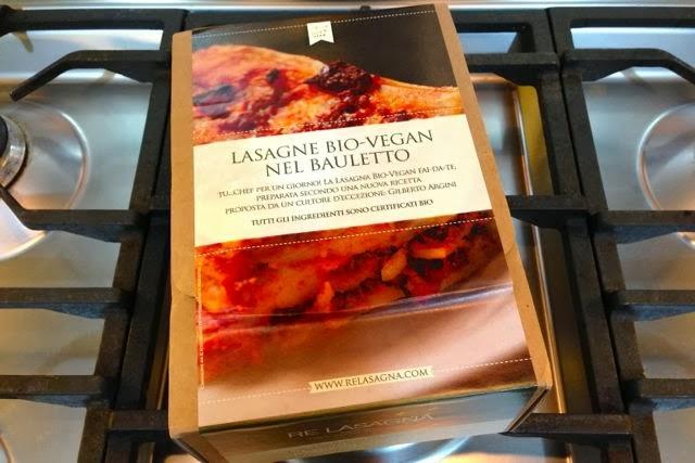 Exclusive: Review of Re-Lasagna Vegan Lasagne Kit