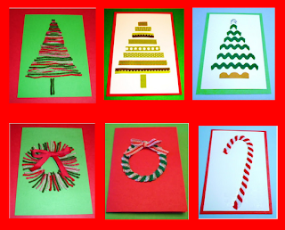 http://learningideasgradesk-8.blogspot.com/2012/12/6-easy-fun-homemade-christmas-cards.html