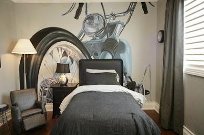 Harley Davidson djecja soba