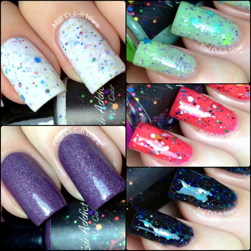 Nail Polish Wars: Polish Addict Secret Galaxy Swatch & Review