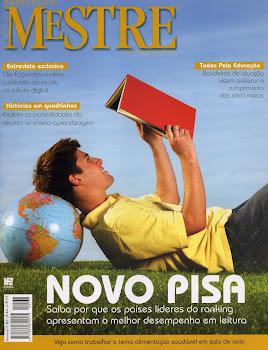 Saímos na Revista Profissão Mestre