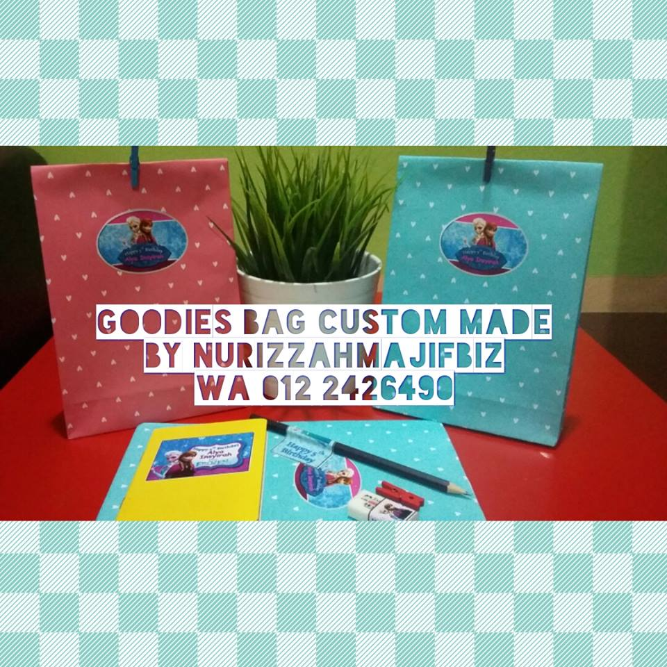 [GOODIES BAG CUSTOM MADE BY NURIZZAHMAJIF]