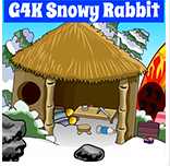 Games4King Snowy Rabbit Escape