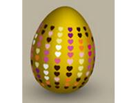 Decoracion de huevos con papel de regalo