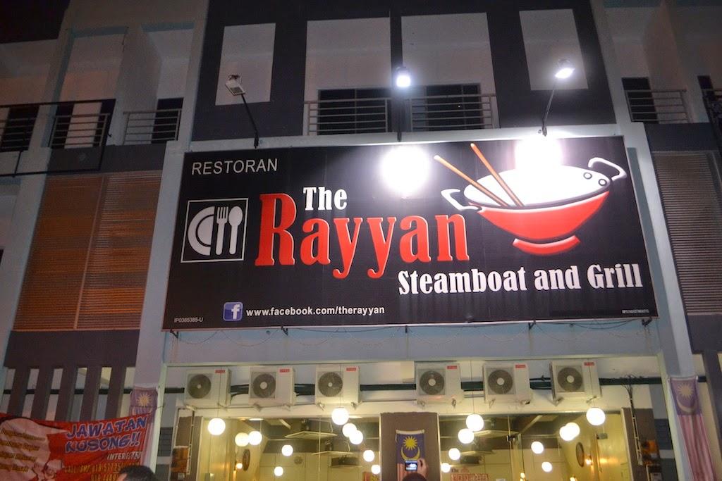 The Rayyan Steamboat And Grill Teluk Intan