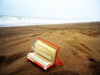 Books, Beach, Shore, Livros, Praia