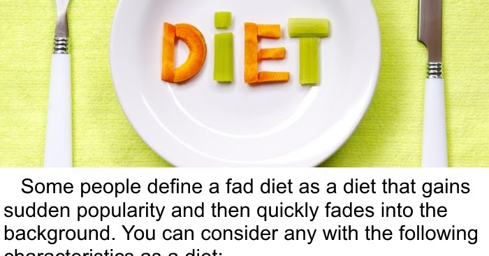 Fad Diet Definition What You Should Know About Fad Diets