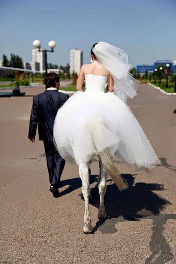 mujer lista para su boda