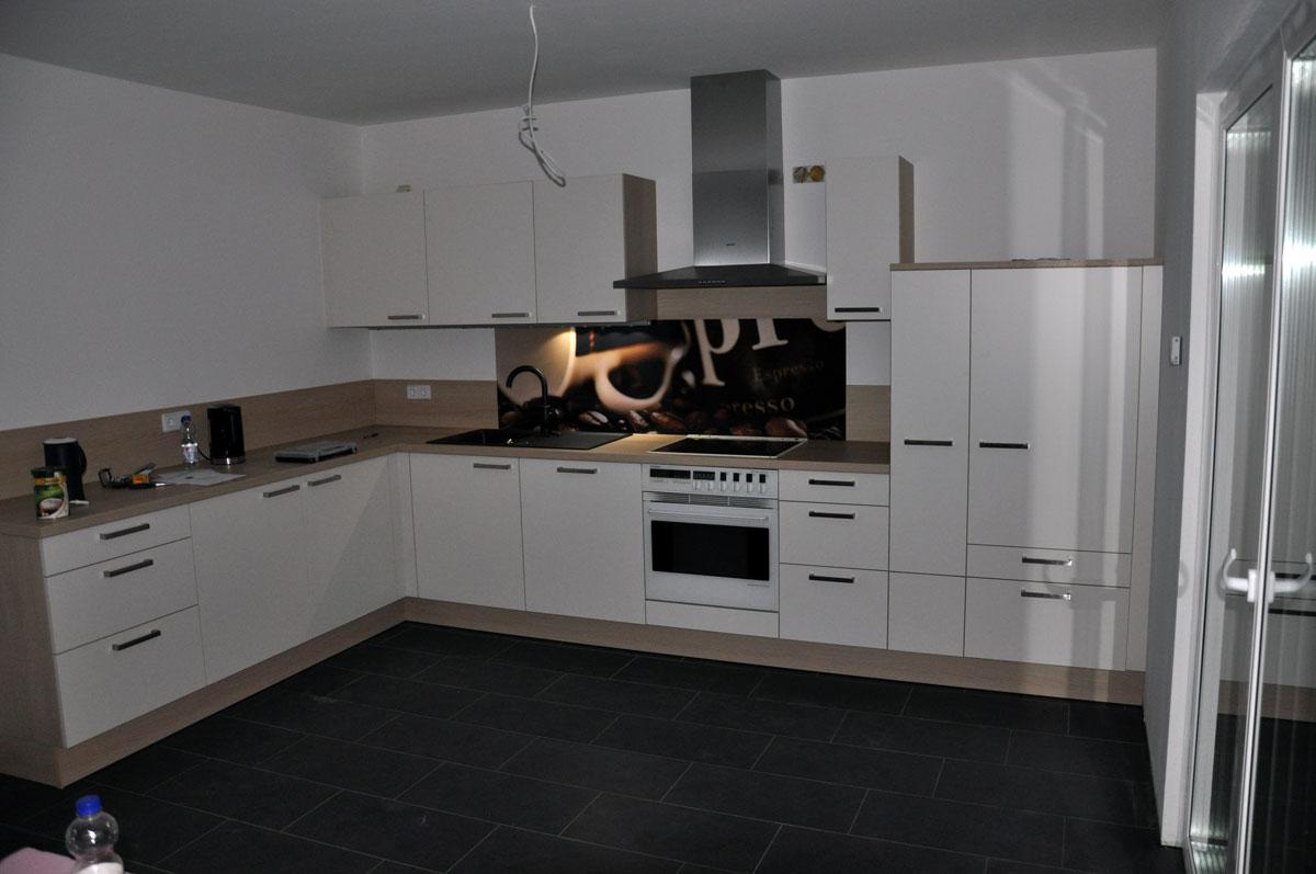 Familie Koller baut ein Danwood Haus Point 127: Unsere Küche ist ...