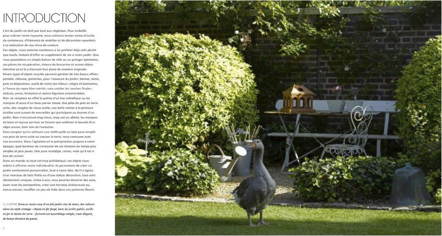 Déco fait main: Livre : Jardin vintage, un art de vivre