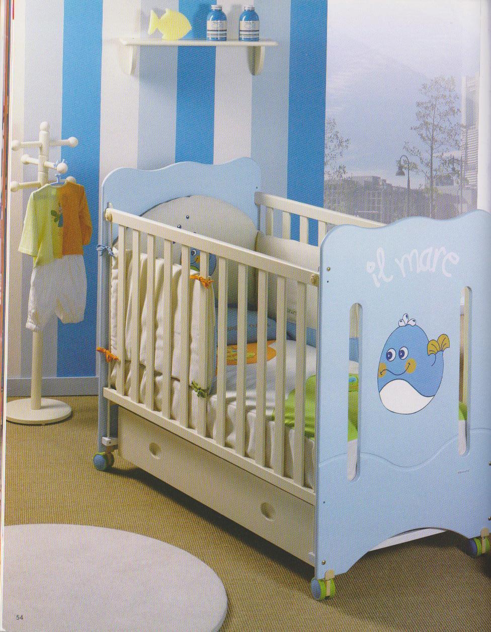 Habitaciones para bebes - Pintar dormitorio bebe ...