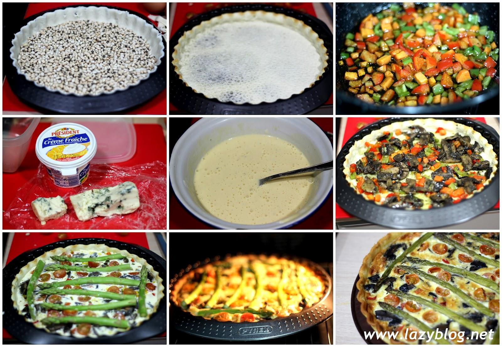 Lazy blog tarta de verduras al horno - Verduras rellenas al horno ...