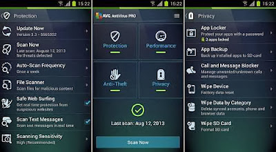 AVG Antivirus Pro for Android Key Features