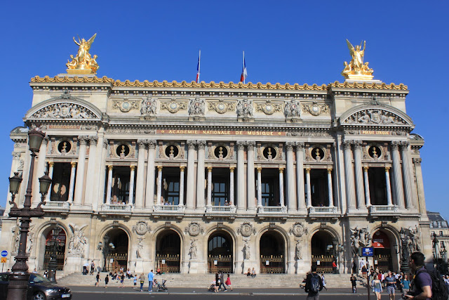 Opera de Paris Garnier in Paris, France