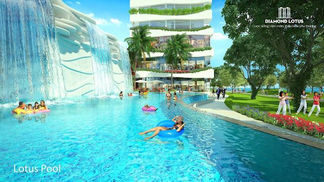 Hồ bơi Lotus Pool