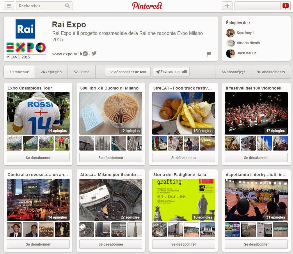 Rai Expo Pinterest